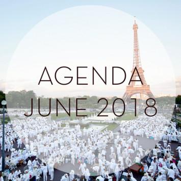 Le Dîner en Blanc – June 2018 Calendar