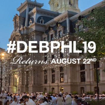 Le Diner en Blanc Philadelphia Returns August 22nd!