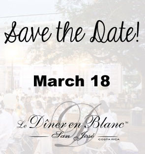 Save the Date for Le Dîner en Blanc - San José, Costa Rica 2017!