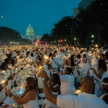 Diner en Blanc DC 2017:  THANK YOU!