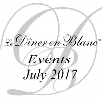 Le Dîner en Blanc July 2017 - Calendar of Events