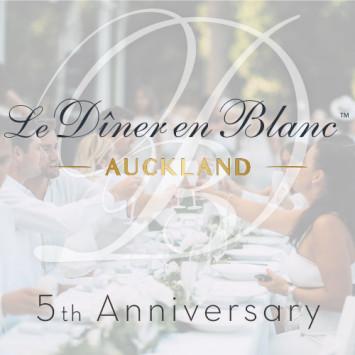 Le Dîner en Blanc - Auckland celebrates its 5th Edition!
