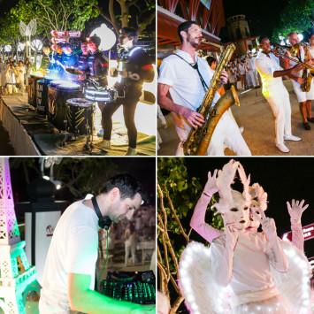Performing Artists of Le Dîner en Blanc - Singapore 2017