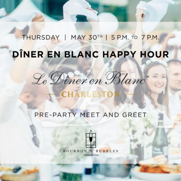 Bourbon & Bubbles Hosts Dîner en Blanc Pre-Party