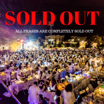 The 2019 Dîner en Blanc - Charlotte event is sold out