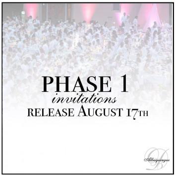 Phase 1 Invitation Release Announced