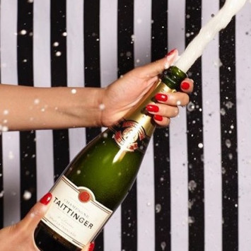Let's Toast with Taittinger!