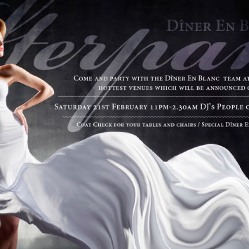 DINER EN BLANC OFFICIAL AFTER PARTY TICKETS ON SALE