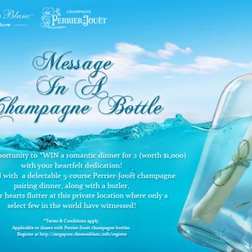 Celebrate true love with a magical twist at Dîner en Blanc Singapore 2014