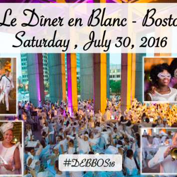 Diner en Blanc Returns to Boston!  July 30, 2016