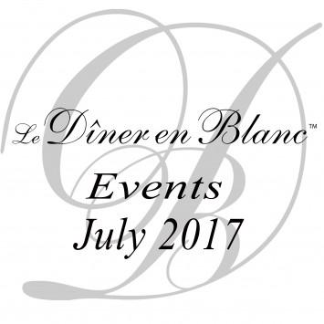 Le Dîner en Blanc July 2017 - Calendar of Events