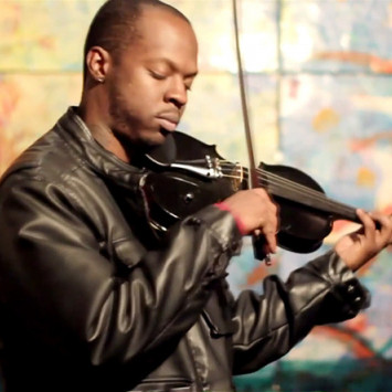 "Featured Performer: Ashanti ""The Mad Violinist"" Floyd"