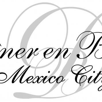 DÎNER EN BLANC CIUDAD DE MÉXICO 2014
