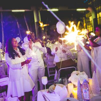 Diner en Blanc - Kingston visits Diner en Blanc Miami
