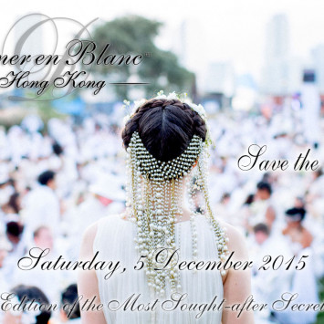 Hong Kong's First Diner en Blanc - Save the Date