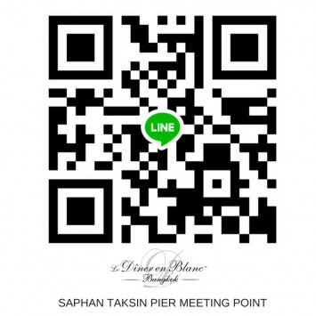 Saphan Taksin Pier Guests ! Join us on LINE Messenger.