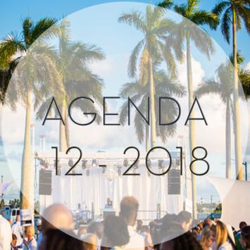 Le Dîner en Blanc - December 2018 Agenda