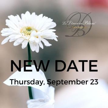 New event date - September 23