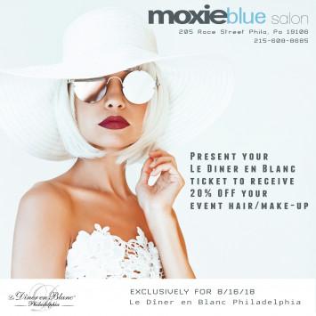 20% off Salon Services at Moxie Blue