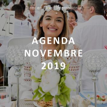 Le Dîner en Blanc - Agenda Novembre 2019