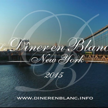 The 2015 Official Video of Diner en Blanc New York is here!