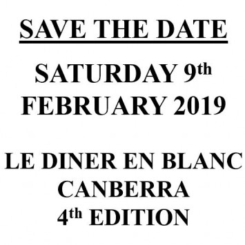 SAVE THE DATE - SATURDAY 9 FEBRUARY 2019