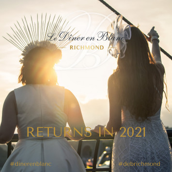 Diner en Blanc Richmond 2020 Postponed