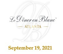Le Diner en Blanc - Atlanta to Celebrate its 7th Edition on September 19, 2021