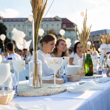 Le Dîner en Blanc Vilnius 2021 vyks rugpjūčio 27 dieną