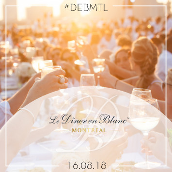 Save-the-date | Le Dîner en Blanc de Montréal 2018