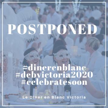 Diner en Blanc Victoria - Postponed