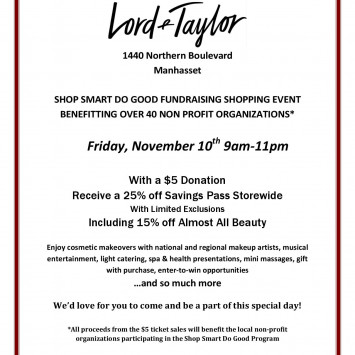 Diner en Blanc Long Island Lord and Taylor Manhasset Shopping Event