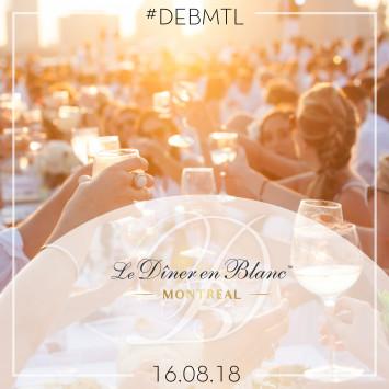 Save-the-date | Le Dîner en Blanc de Montréal 2018