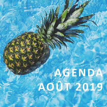Le Dîner en Blanc – Agenda d'août 2019