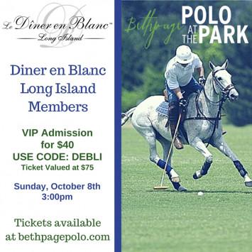 Diner en Blanc at Polo!